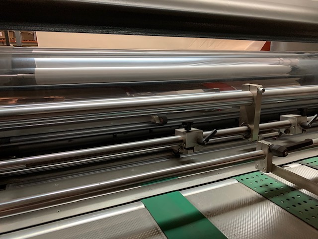 SECOND HAND THERMAL LAMINATOR ECOSYSTEM MODULO DRY 120x165 MANUFACTURED IN 2006