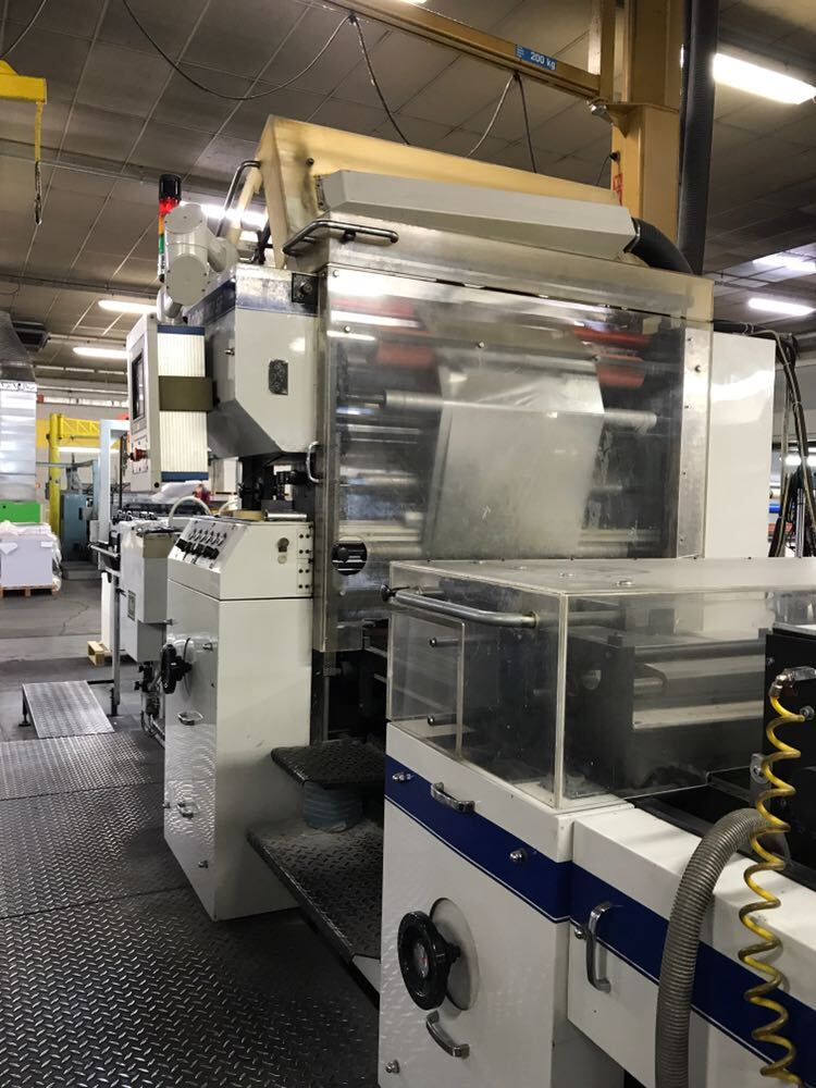 SECOND HAND PUR (SOLVENTLESS) FILM LAMINATOR STEINEMANN LOTUS 102x140 MANUFACTURED IN 2001