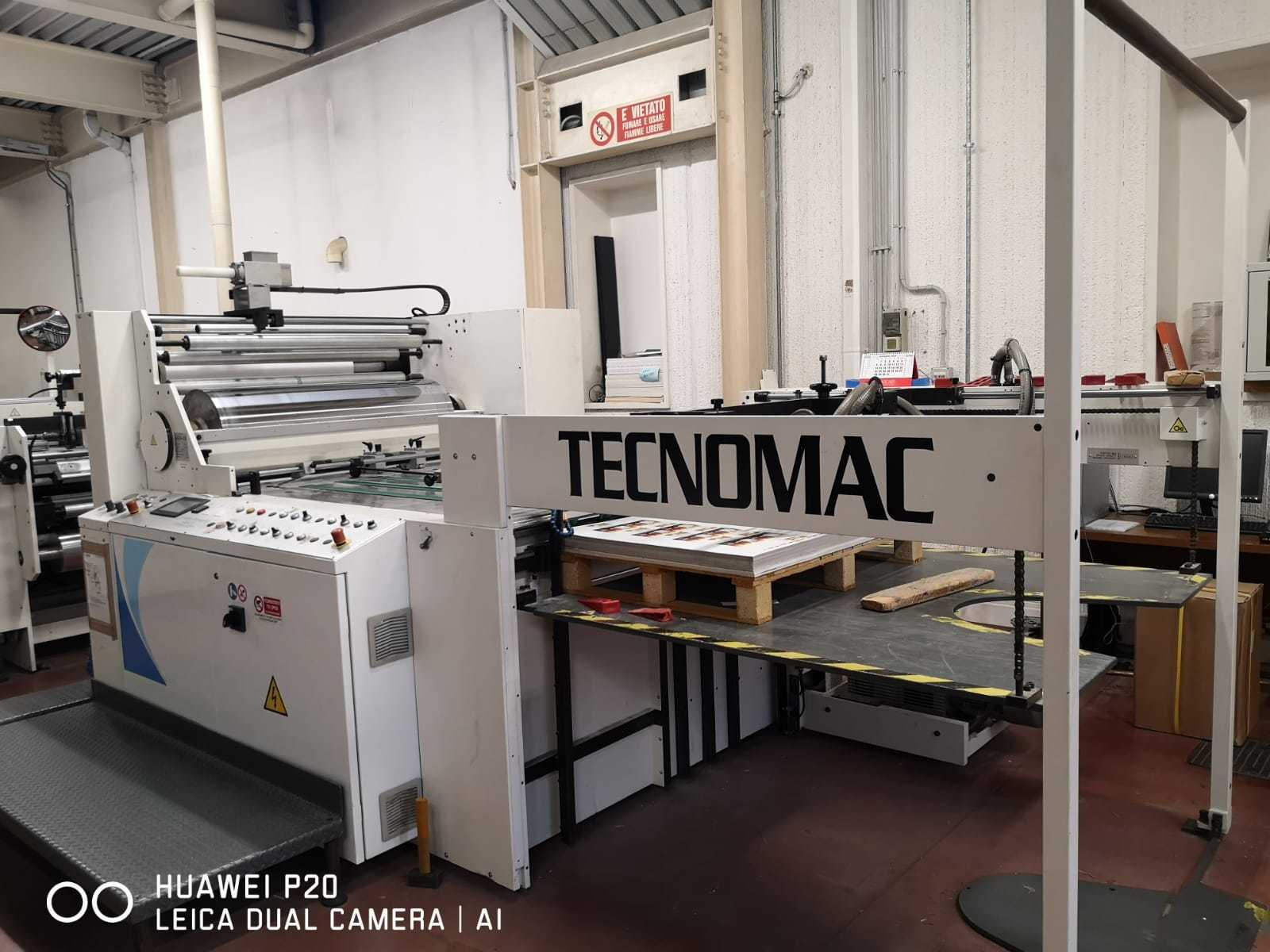 SECOND HAND THERMAL LAMINATOR TECNOMAC FAST 112x140 MANUFACTURED IN 2009